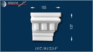 Fassadenprofil Canberra 107-F rechtes Schließelement