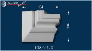 Fassadenstuck Zierleisten Ankara 108 rechtes Kombi-Eckelement
