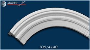 Fassadenstuck Zierleisten Ankara 108 flexible Stuckleisten