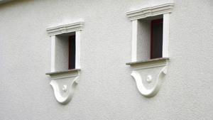 Fassadengestaltung Soul 60 Fensterverzierung