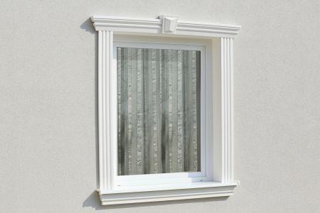 aussenfensterbaenke zur daemmung und verzierung der fassade