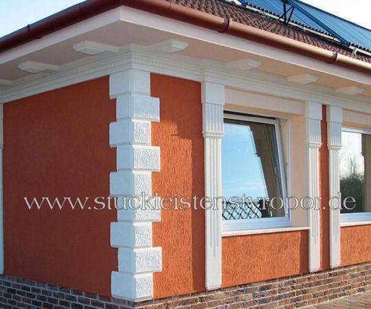 Dekoideen f r stuck dekorbau for Fassaden ideen
