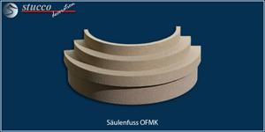 Beschichteter Säulenfuss OFMK mit Sockel