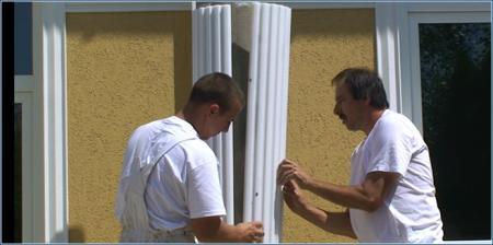 Styroporsäulen selbst bauen