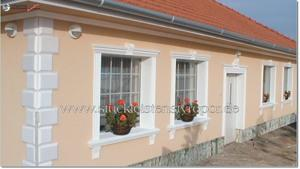 rustikale Hausfassade
