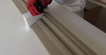 Markierschablone zum Fassadenprofil