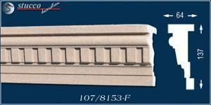 Beschichtetes Fassadenprofil Canberra 107-F für Fenstersturz