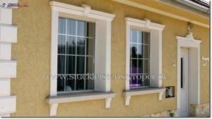 Außenstuck Fassadenelemente an einer Fassade