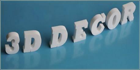 3D Buchstaben für 3D Schrift und 3D Logos