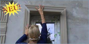 Fassadenprofile, Fassadenstuck, Fensterlaibung