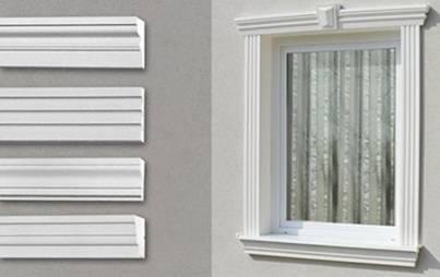 Sofort lieferbare, stossfeste Aussenstuck Fassadenprofile 20% günstiger