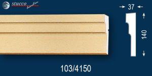Beschichteter Fassadenstuck Zierleisten Bankok 103