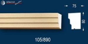 Fensterbankprofil Stuckfassade beschichtet Idaho 105