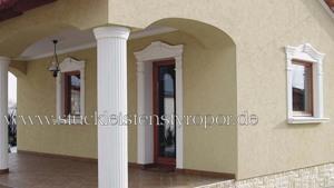 Säulenschaft zur Fensterverzierung