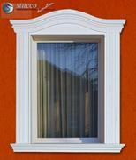 Flexible Stuckleisten Fensterverzierung Bankok 103