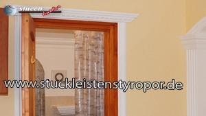 Wohnungsdekoration mit Styroporstuck