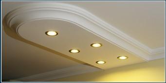 Deckenbeleuchtung mit LED Spots