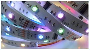 LED Strips für indirekte Beleuchtung Decke