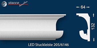 Stuckprofil für indirekte Beleuchtung München 205