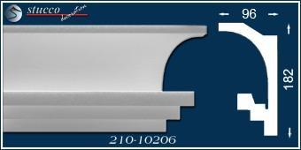 Styroporleiste für indirekte Beleuchtung Köln 210