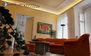 Indirekte Beleuchtung im Wohnzimmer von Andreas Pauli