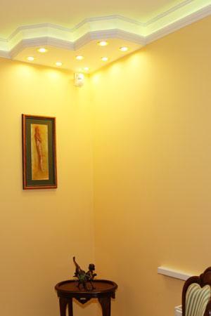 LED Lichtleisten als bezaubernde Ecklösung