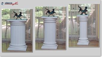 Dekosäulen - verschiedene Durchmesser der Säulen