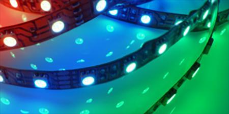 Mehrfarbige RGB LED Strips