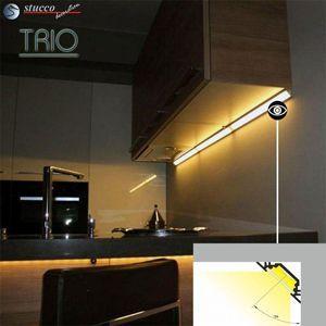 Aluprofil TRIO Küchenbeleuchtung
