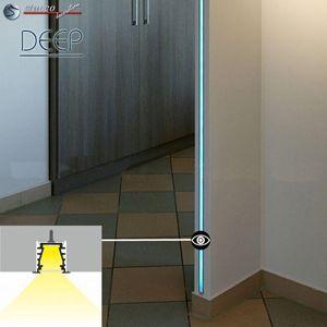 LED Aluminiumprofile als Türrahmenbeleuchtung