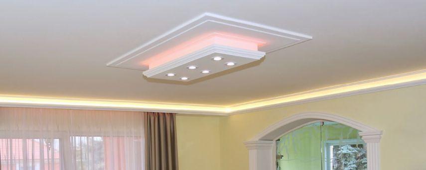 Stucklampen mit LED Spots