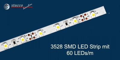3528 SMD LED Strip mit 60 LEDs/m