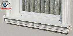 Komplette Fensterbänke