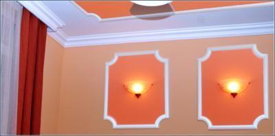 Raumgestaltung mit Stuckleisten, Deckenleisten und Wandleisten