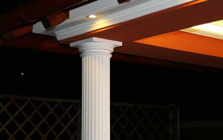 Dekosäulen und Säulenverkleidung