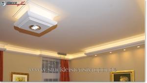 LED Lichtleisten aus Styropor