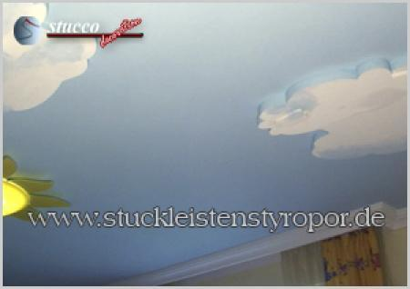 Wolkendecke im Kinderzimmer