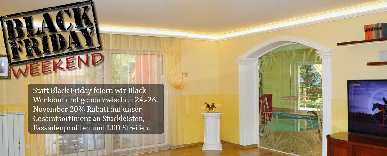 stuckleisten styropor led led spot beleuchtung mit. Black Bedroom Furniture Sets. Home Design Ideas
