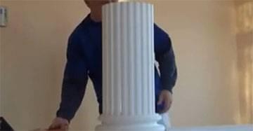 Deko Säulen selber bauen