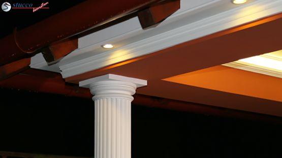 Außenstuck Säulen