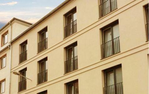 Moderner Fassadenstuck