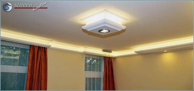 Direkte und indirekte Beleuchtung mit LED Einbaustrahler Set