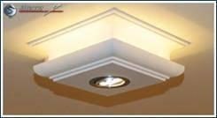 LED Deckenleuchte für indirektes Licht Decke