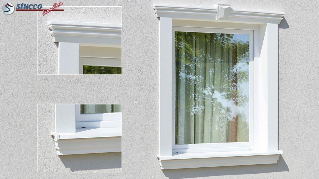 Dezente Stuckleisten für den Fensterstuck