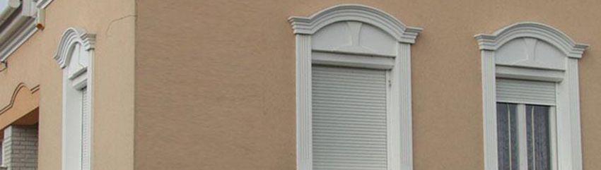 Flexible Stuckleisten als individueller Fassadenstuck