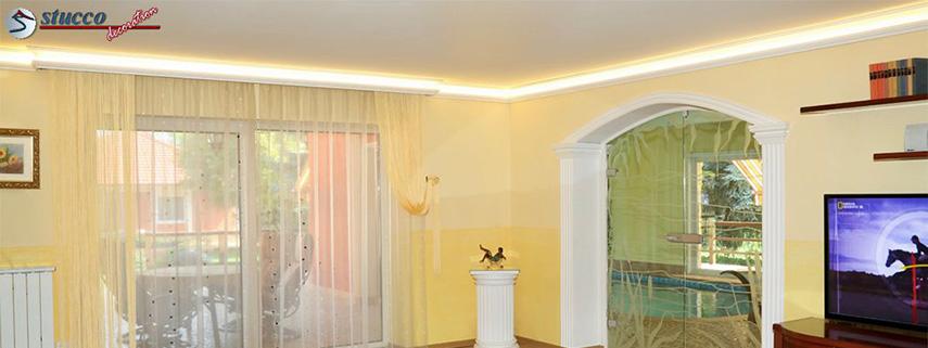 So finden Sie für jeden Raum die passende Stuckleiste mit LED Beleuchtung